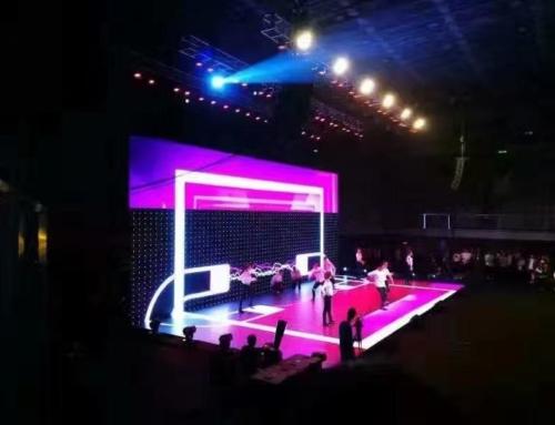 舞台租赁LED显示屏方案